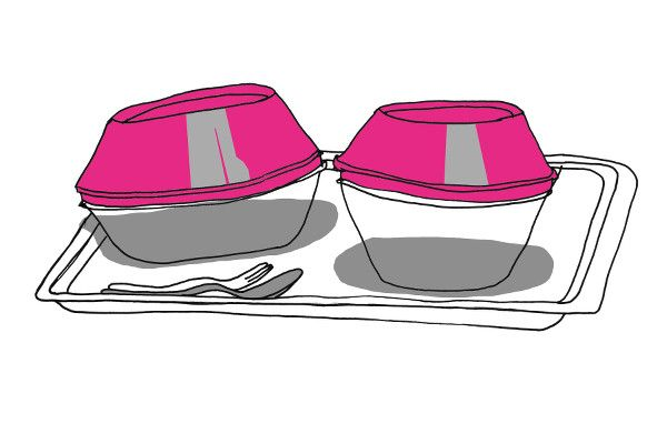 Hauptköchin in der Zentralküche