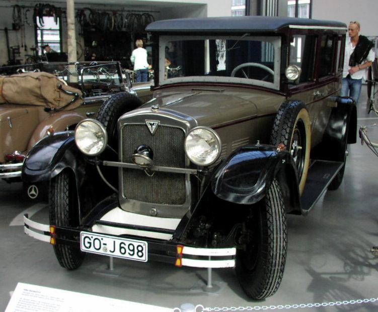 MHV Adler Standard 6s, 1928