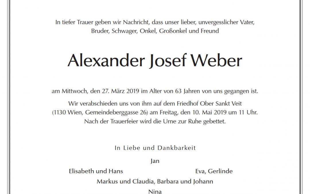 Parte: Alexander Weber