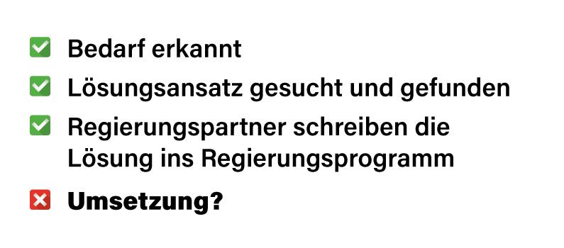 Checkliste zur Altersteilzeit in Wien