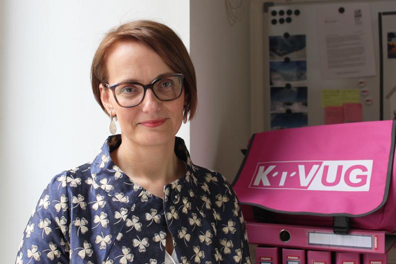 Sonja Korenzhan von der KIV-Zentrale
