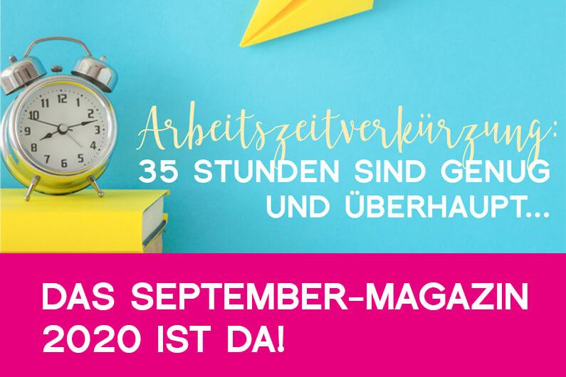 KIV-Magazin im September 2020
