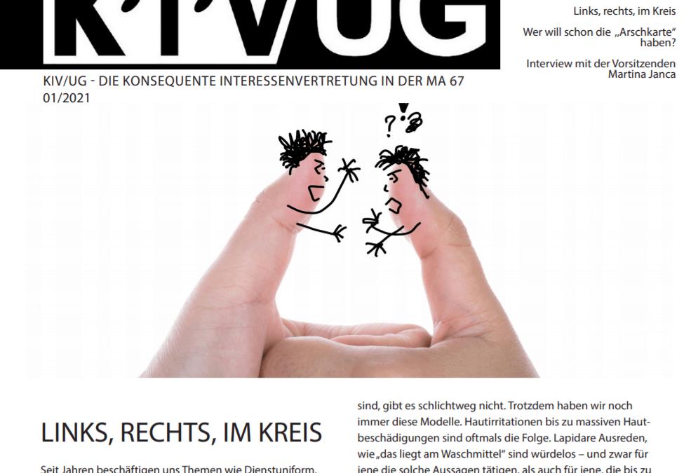 KIV-Magazin Ausgabe 01/2021